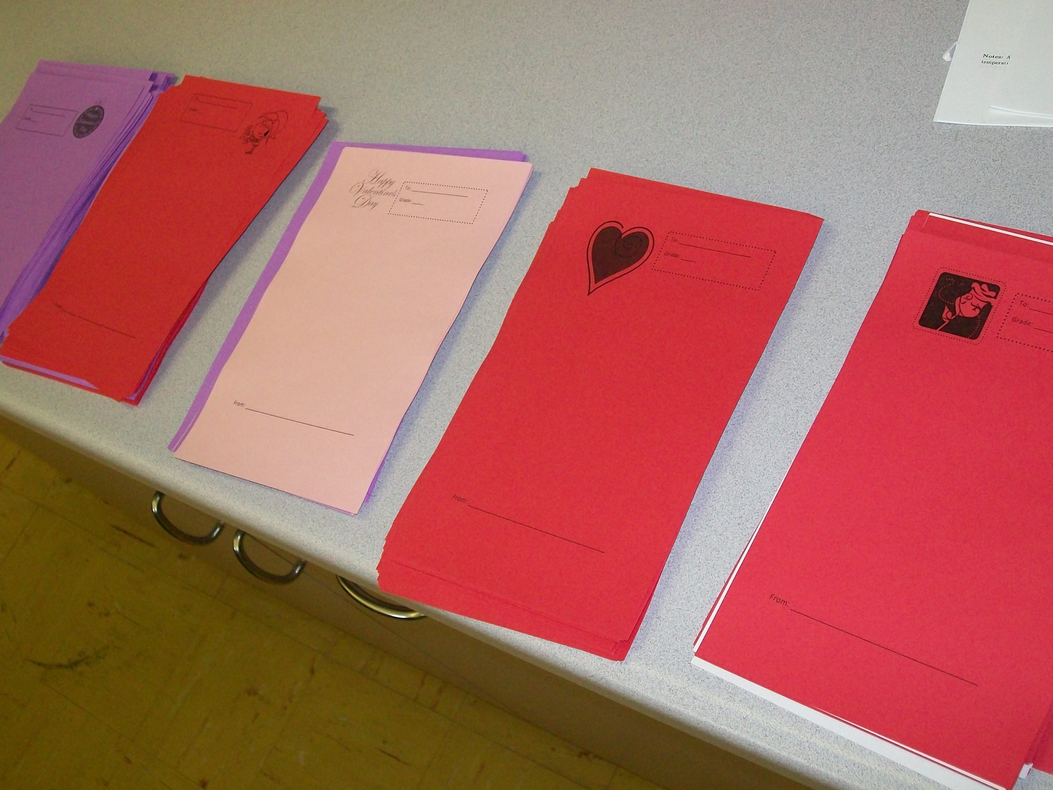 Valentine Grams School